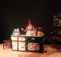 And She Bakes, LIVE!, Designed by Elizabeth Tolson