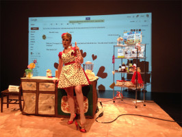 And She Bakes, LIVE!, Set Design by Elizabeth Tolson
